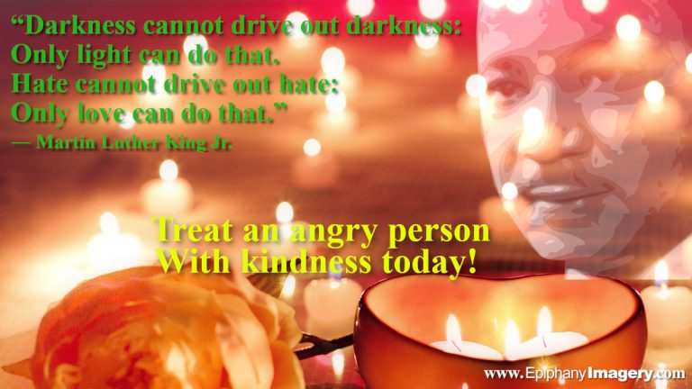 Light and Love Martin Luther King